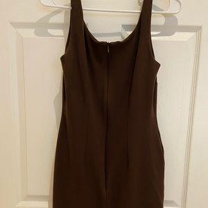 Eliza J  Brown Sleeveless Dress Size 4